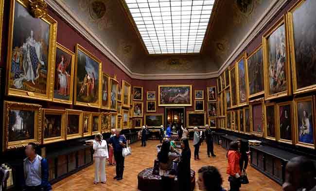 Museo de Chantilly y la sensación de caos