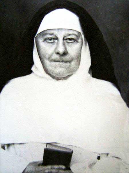 Santa María Eufrasia Peletier en su ancianidad