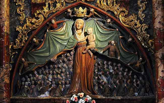 La Basílica de la Virgen de la Misericordia es una de las iglesias de peregrinación más conocidas de Eslovenia
