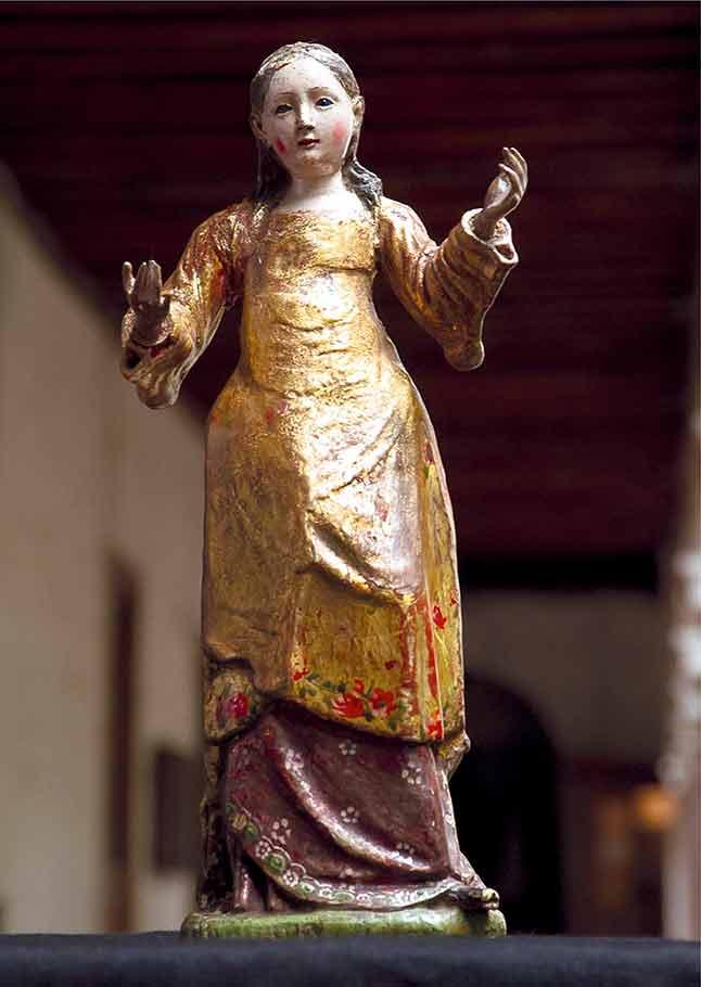 Virgen del socorro traída por Pedro de Valdivia a Chile