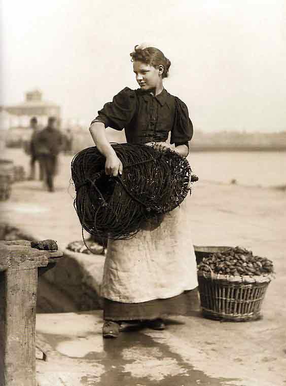 Una pescader fuerte y delicada de Yorkshire