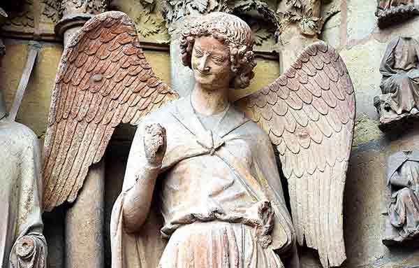 El ángel de la sonrisa - Reims