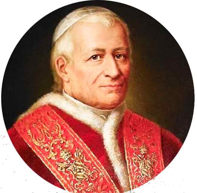 El Papa Pío IX proclamó el dogma de la Inmaculada Concepción de la Virgen María