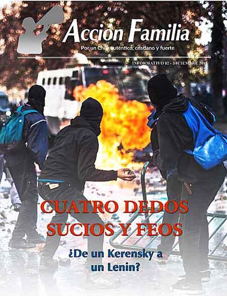 Portada Informativo 82 de Acción Familia – Diciembre 2019