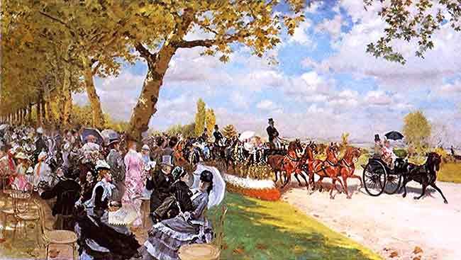El regreso de las carreras de Longchamps