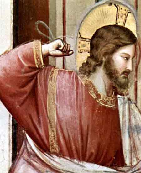 """""""Un Jesús, que está de acuerdo con todo y con todos, un Jesús sin su santa ira, sin la dureza de la verdad y el amor verdadero, no es el verdadero Jesús"""