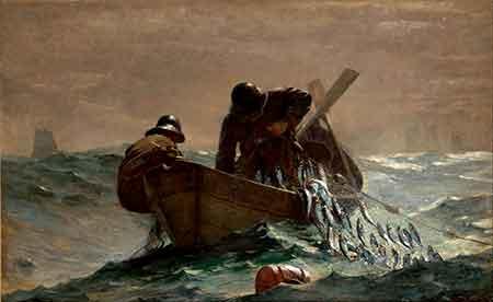 pescadores de arenques
