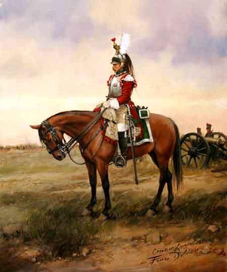 Coracero imperial Napoleón