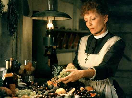 Babette prepara el festín