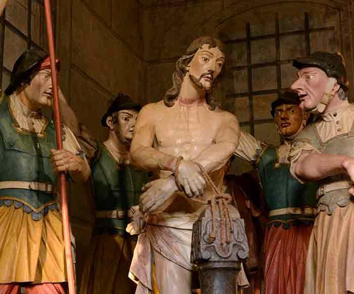 Jesús maniatado