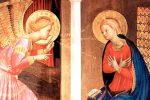 Anunciación del Angel a la Santísima Virgen