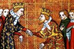 Homenaje del rey de Inglaterra a San Luis rey