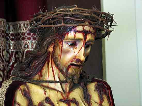 Jesús coronado de espinas
