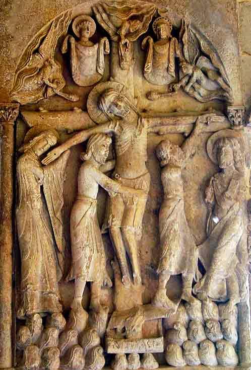 Descendimiento de Cristo en Silos