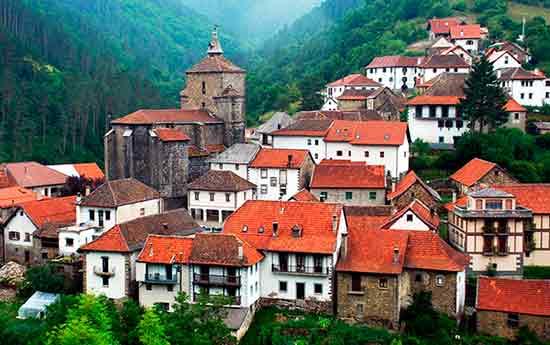 Un pueblo del Valle del Roncal