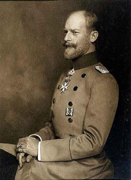 El Príncipe Karl Anton de Hohenzollern-Sigmaringen un auténtico aristócrata