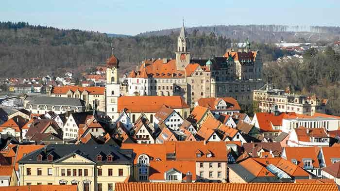 El castillo de Sigmaringen y su pueblo