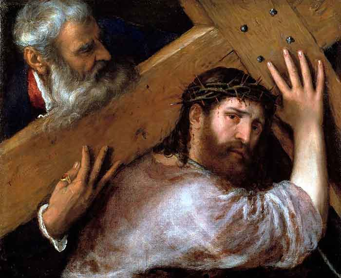 El cireneo de Tiziano
