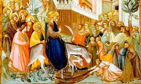 Jesús entra en Jerusalem