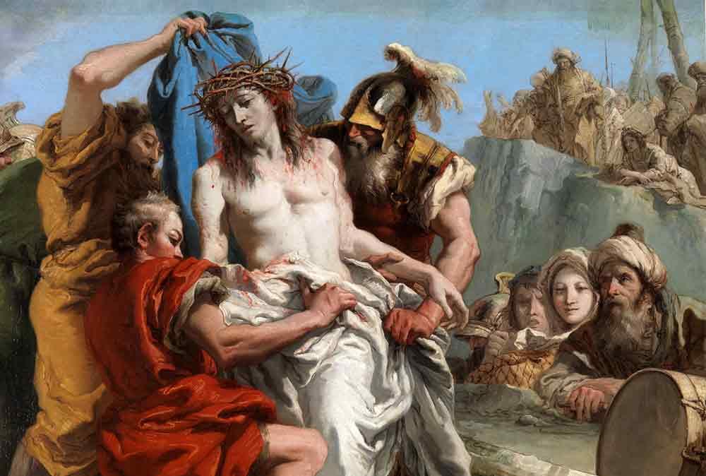 X Estación Jesús es despojado de sus vestiduras