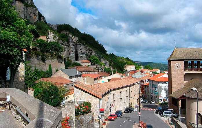Lugar donde nació el queso Roquefort
