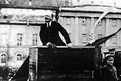 Lenin se torna figura relevante en la Revolución de 1917