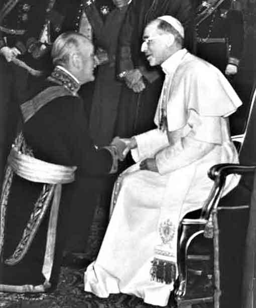 Conde Wladimir d'Ormesson fue hasta mediados de 1956 embajador de Francia ante la Santa Sede