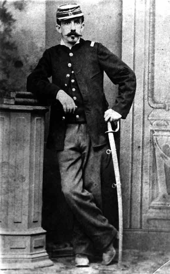 Ignacio Carrera Pinto murió heroicamente en la batalla de la Concepción