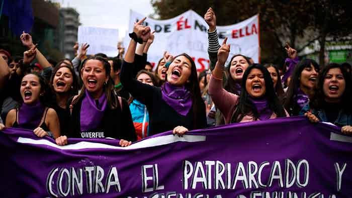 Feminismo contra el patriarcado