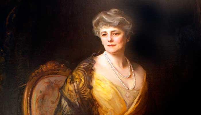 Lady Jane Muir Coats, por Philip Alexius de László
