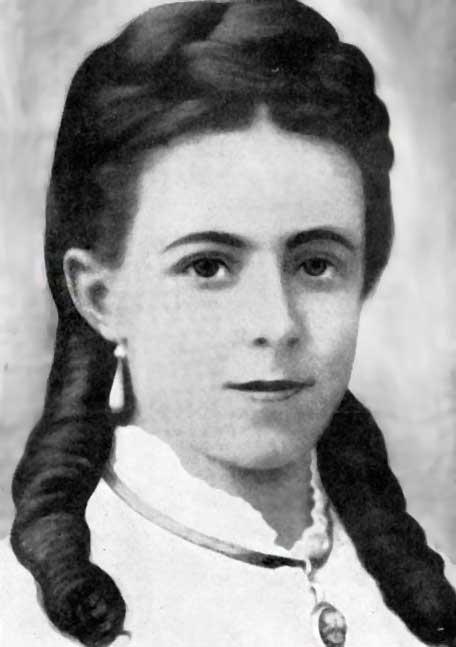 María Eufrasia Peletier cuando joven