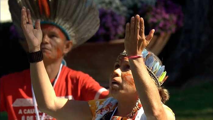 Culto a la Pachamama en el Vaticano