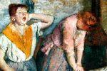 Planchadoras de Degas