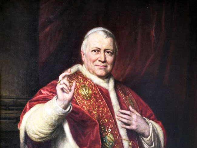 Pío IX previene contra los falsos católicos