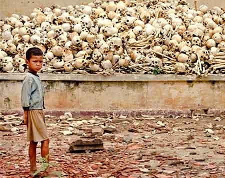 El balance del experimento de los Kmer Rouge en Camboya