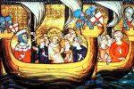 San Luis partiendo para la Cruzada