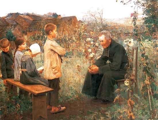 La Iglesia católica fue instituida para la salvación de las almas. El amor de Dios lleva a compadecerse de los males del cuerpo