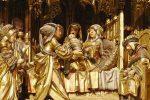 Nacimiento de la Virgen retablo Valladolid