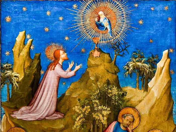 Nuestro Señor nos enseño a ver el dolor de frente, aceptarlo y pedir fuerzas sobrenaturales para llevarlo hasta el fin