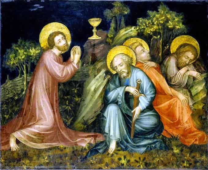 En el Huerto de los Olivos Nuestro Señor Jesucristo practicó el verdadero y perfecto heroísmo enfrentando el dolor moral