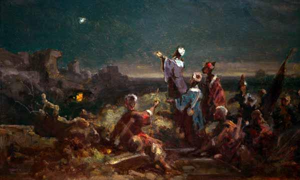 Los Reyes Magos simbolizan a la gentilidad que busca al Salvador