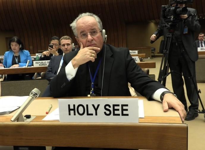 El representante de la Santa Sede ante la ONU