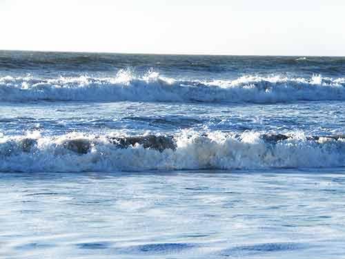 El mar cuando se muestra manso y sereno