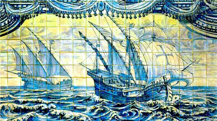 Las naves portuguesas llevaron religión y civilización a varios continentes