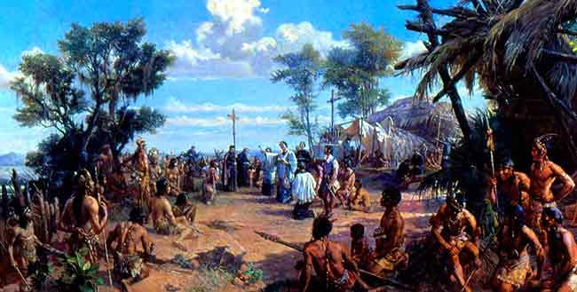 La cristianización del Brasil fue obre de santos, como San José de Anchieta